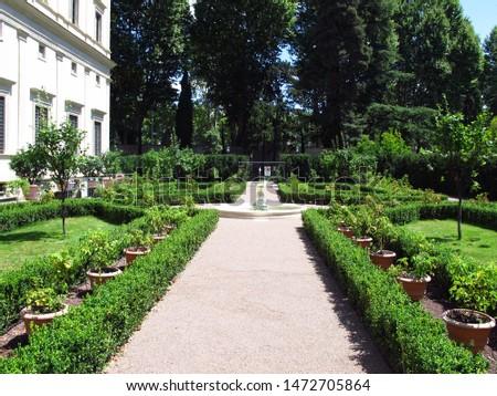 Villa Farnesina in Rome, Italy