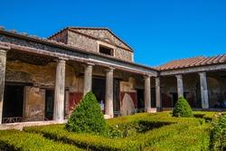 Villa in Pompeii, Italy.