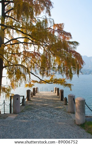 Villa Melzi on Lake Como in northern Italy
