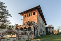 Villa Ottelio Savorgnan in the italian town of Rivignano Teor. This renaissance villa was told to be the house of the noble lady Lucina Savorgnan whose story inspired Shakespeare's