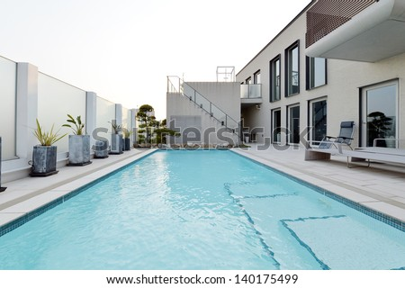 Villa with swimming pool and relaxation bed-5
