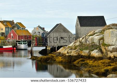 Village of Peggy's Cove, Nova Scotia Canada