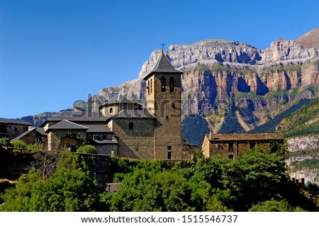 Village of Torla, Huesca, Aragon, Spain #1515546737