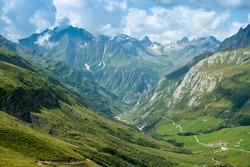 Ville des Glaciers, stage of Tour de Mount Blanc, France