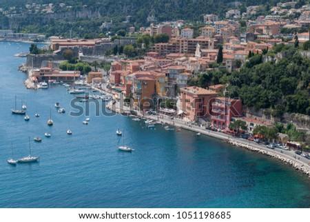 Villefranche-sur-mer, Alpes-Maritimes, France #1051198685
