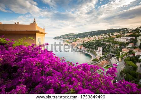 Villefranche sur mer Côte d'Azur Foto stock ©