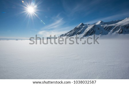 Vinson Massif, Sentinel Range, Ellsworth Mountains, Antarctica