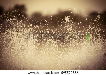 Vintage abstract background of bubble water, splashing water. #595572782