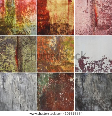 vintage abstract rusty colored background