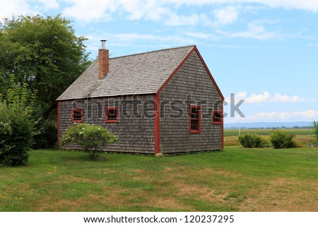 Vintage Acadian building