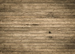 vintage aged yellow brown wooden backgrounds texture with black vignette.