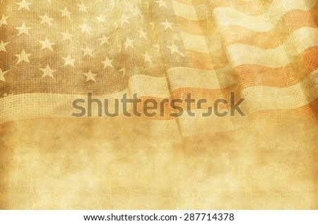 vintage american background...