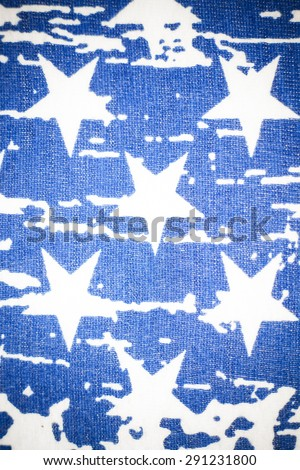 Vintage American flag background.