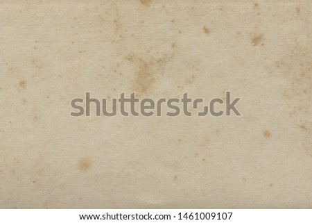 Vintage and old looking paper background. Retro cardboard texture. Grunge paper for drawing. Ancient book page.