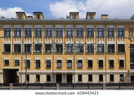 vintage architecture classical...