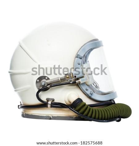 vintage astronaut helmet...