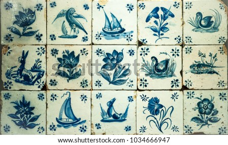 vintage azulejos  traditional...