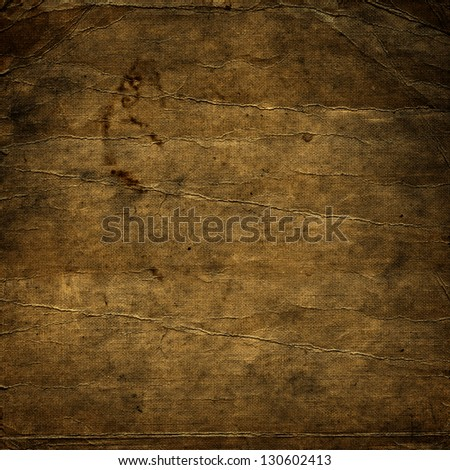 Vintage background, burned old paper texture; suitable for Photoshop blending purposes
