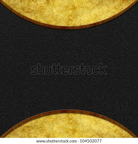 Vintage background. Classical frame template