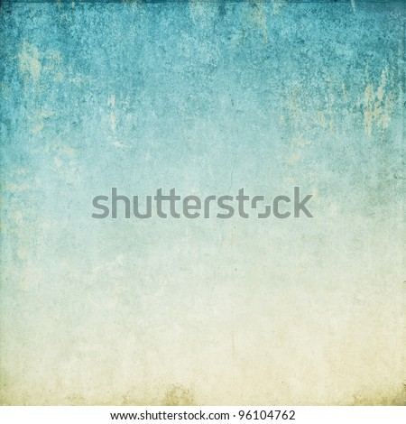 Vintage background in the blue shade. paper texture