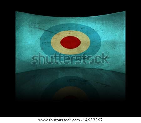 Vintage background - paper - target concept