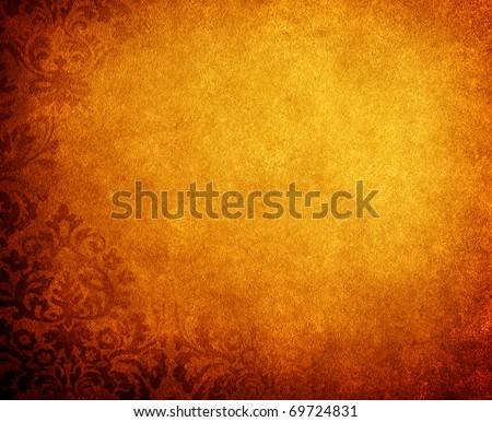 vintage background with floral pattern