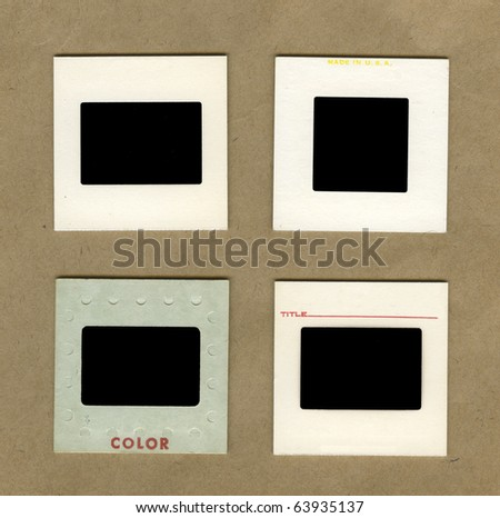 vintage background with four...