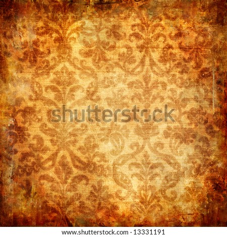 vintage background with shabby patterns