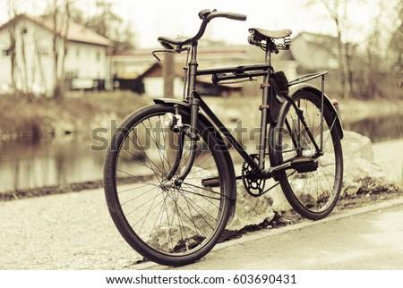 Vintage bike #603690431