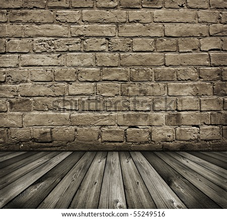 vintage black and white textured brick wall