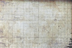 vintage blank   millimeter paper ,background  texture