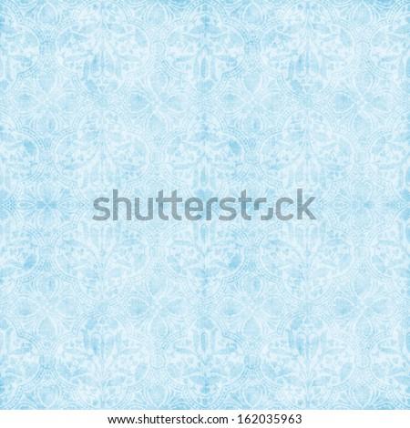vintage blue tapestry pattern