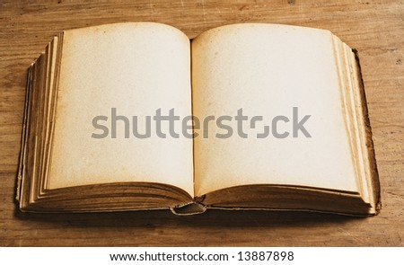 Vintage book. - stock photo