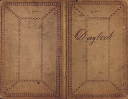 Vintage Book Cover - Daybook