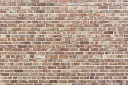 Vintage brick matte - Weathered texture of stained old dark brown and red brick wall background, grungy rusty blocks of stone - Old rustic grunge industrial pattern architectural - Vintage Brick Work