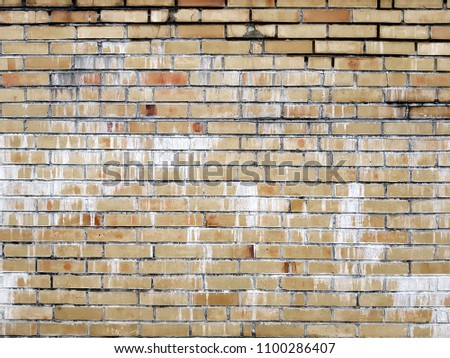 Vintage brick wall background texture