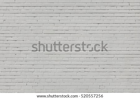 Vintage Brick Wall With White Plaster Horizontal Texture Or Background. Whitewashed Wall In The Room Interior Made Of The Old Clay Bricks
