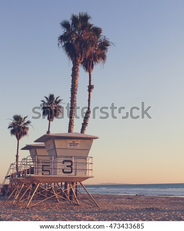 vintage california life guard...