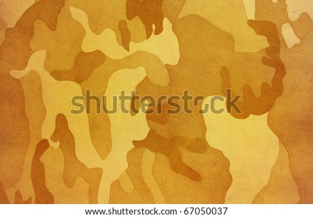 Vintage Camouflage pattern
