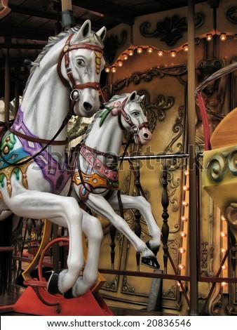 Vintage Carousel Stock Photo 20836546 : Shutterstock