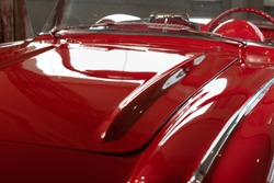 vintage cars closeup