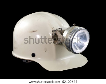 Vintage caving / mining hard hat from the 1970's.