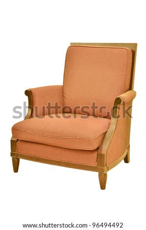 Vintage chair isolated