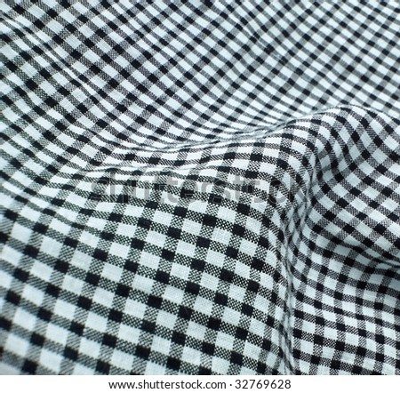 Vintage checkered textile. More of this motif & more textiles in my port.