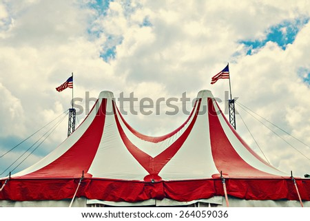 vintage circus tent. instagram...