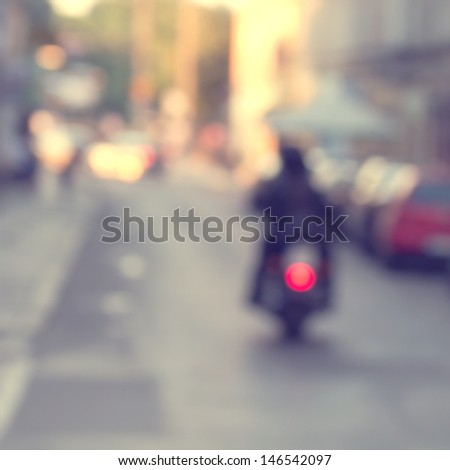 vintage city street background