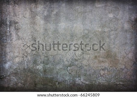 vintage concrete cracked wall with artistic shadows added