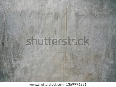 Vintage concrete loft wall. #1359996281