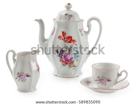 vintage czech porcelain set for ...