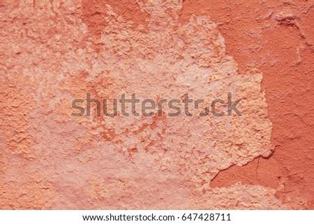 vintage damaged adobe stucco...